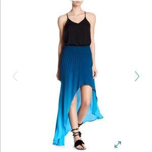 Young fabulous and broke hi low maxi skirt S